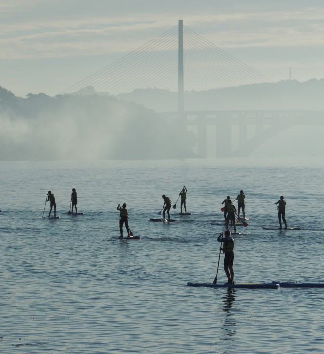 Stand up Paddle lors au Moulin-Blanc