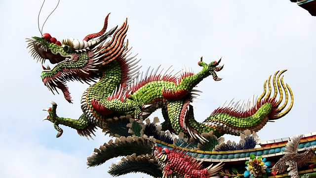 Dragon chinois traditionnel